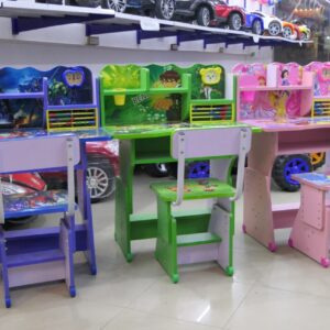 Study Table For Kids with Chair (Wooden) Educational