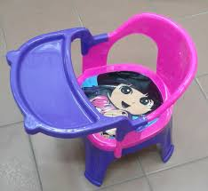 4 IN 1 PLASTIC BABY DINING CHAIR