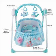 Review Automatic Baby Swing Cot